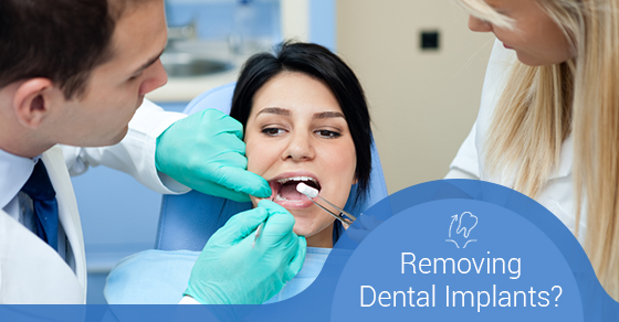 Removing Dental Implants